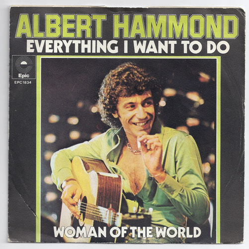 "ALBERT HAMMOND ""Everything I want to do"""